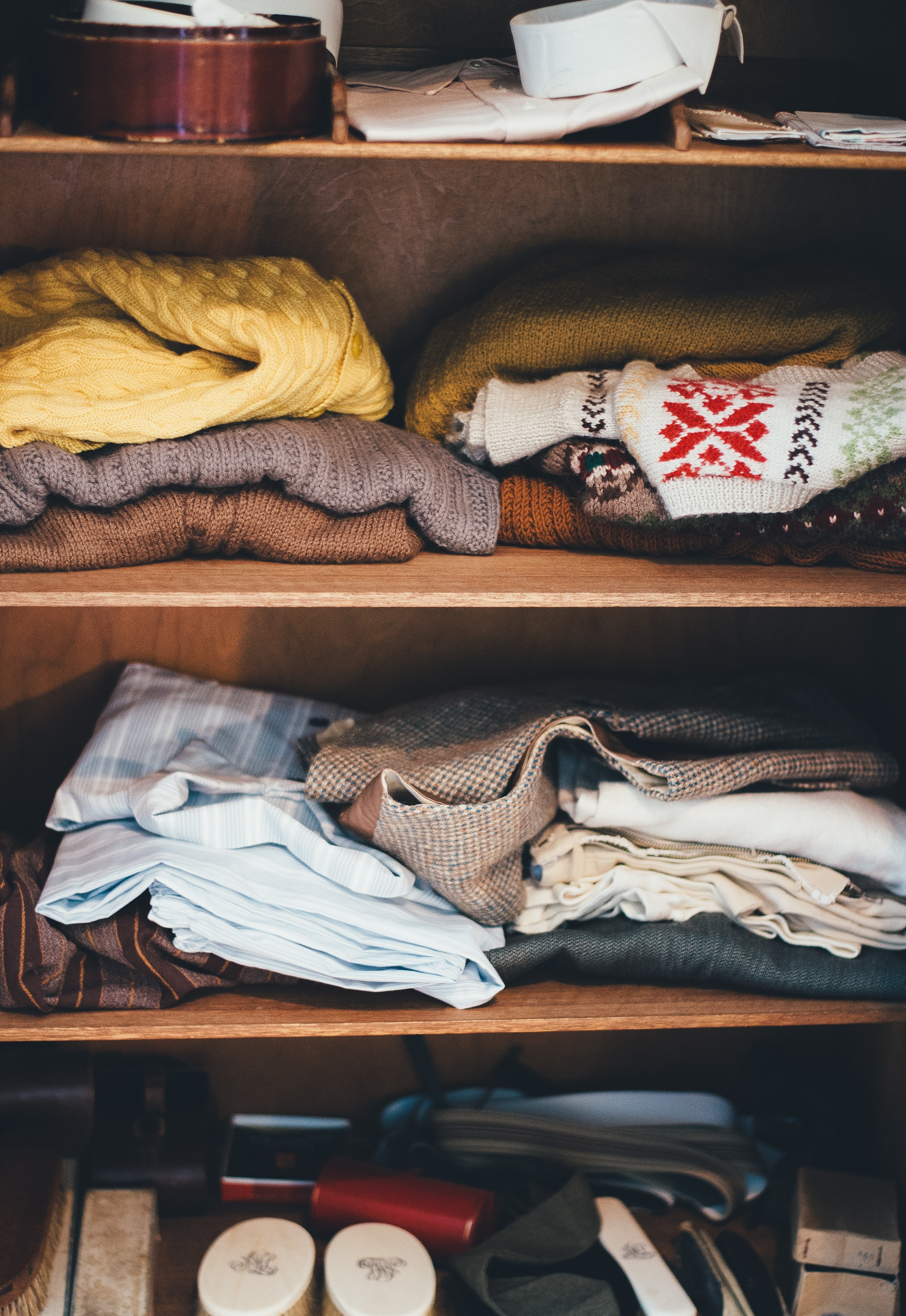 Hospice and organizing: Sorting Clothes. My personal experience